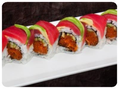 I Love Ahi Tuna Roll
