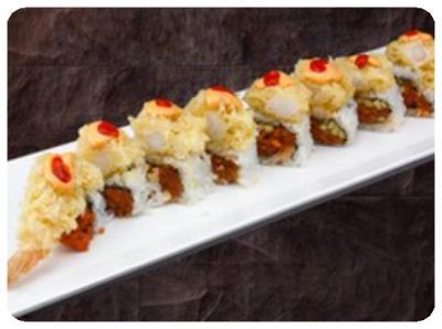 Lava Crunch Roll