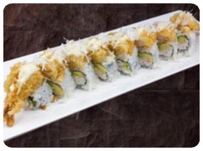 Pina-Colada Crunch Roll