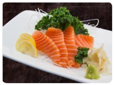 Salmon Sashimi (4Pcs)