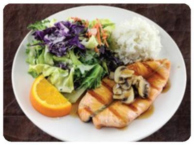Salmon Teriyaki (D)
