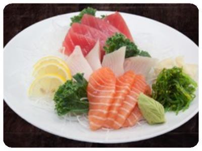 Salmon, Tuna, Yellowtail (12Pcs)