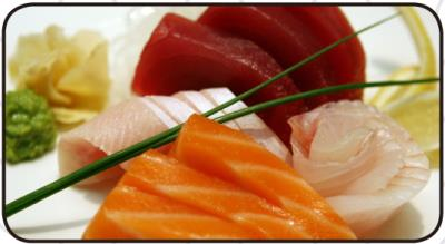 (L) Assorted Sashimi