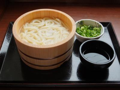 Kama Age(Hot Dipping) Udon