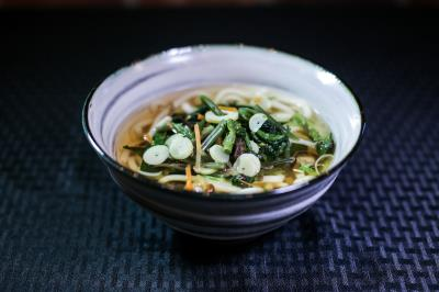 Sansai (Vegetable) Udon