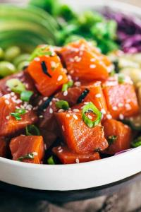 Spicy Salmon Poke