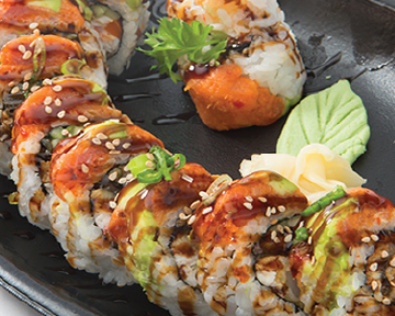 Red Dragon Roll **