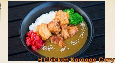 I. Chicken Karaage Curry