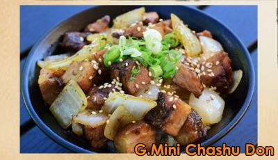 Mini Chashu Don