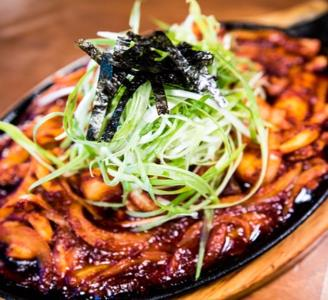 Spicy Squid Rice Cake