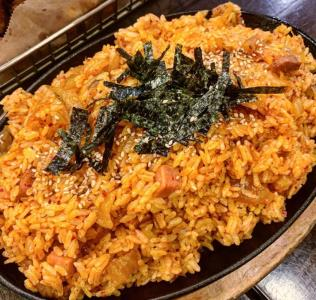 Kimchi & Spam Fried Rice
