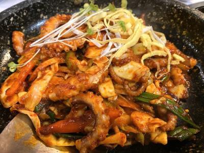 Squid Stir Fry