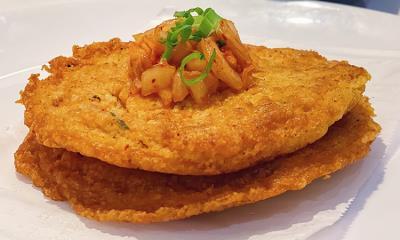 Kimchi Mung Bean Pancake (3Pcs)