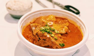 Braised Kimchi Pork Rib
