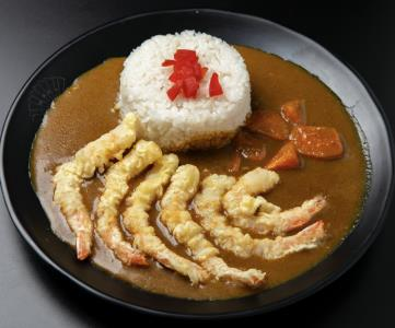 Shrimp Tempura Curry