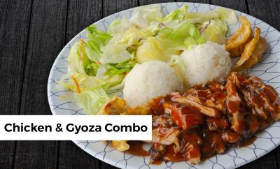 Chicken & Gyoza