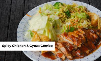Spicy Chicken & Gyoza