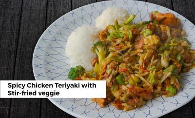 Chicken Stir Fried Veggie