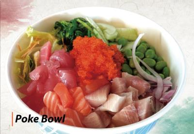 Mix Fish Poke Bowl