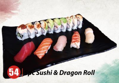 5Pcs Sushi+Dragon R Combo