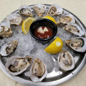 Kusshi Oysters (6)