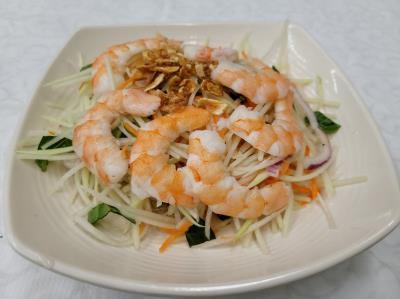 Shrimp Papaya