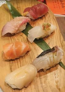 6 Pc Sushi