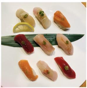 9 Pc Sushi (New)