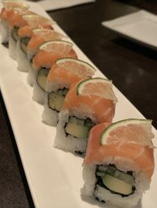 Salmon Citrus Roll