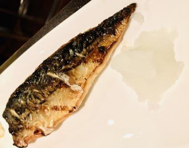 Saba Shioyaki Dinner