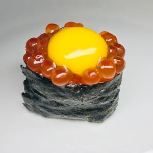 Ikura With Quail Egg (N)