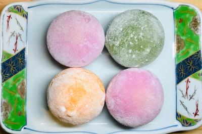 Mixed Mochi Ice Cream-4 Pcs
