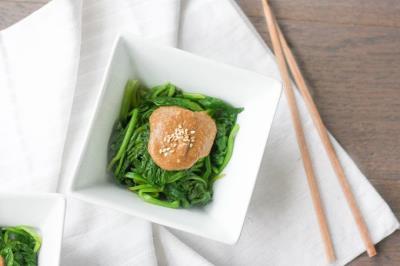 Spinach Gomae Salad