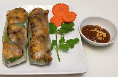 A10. Grilled Chicken Rolls(2)