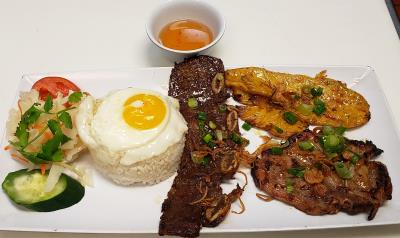 C1. Combination Rice Platter