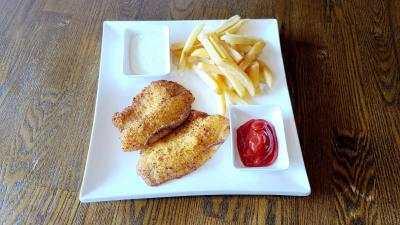 2 Pc Fish Meal ( Choice Of Fish + French Fries )-Rice Options