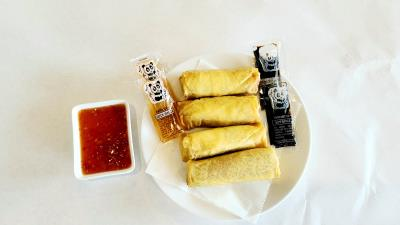 A-03. Spring Roll (Vegetable Egg Roll)