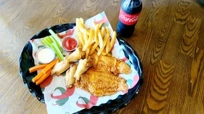 Combo 24 ( 2 Fish + 4 Wing + Drink + Fries )