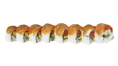 Dill Salmon Roll