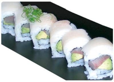 Double Hamachi Roll
