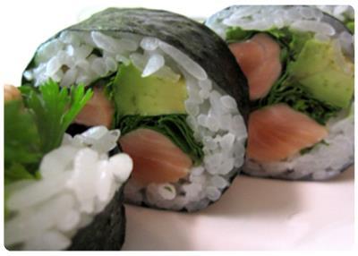Salmon Ceviche Roll