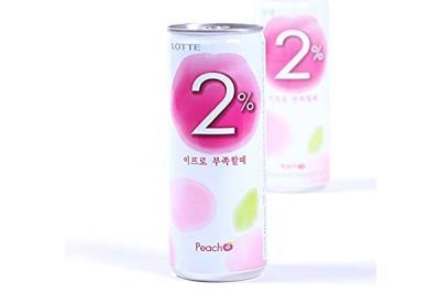 2% Peach Water