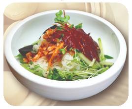 Kimchi Bibim Guk Su