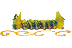 Vege Caterpillar Roll