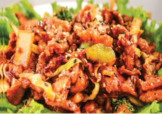 Spicy Bbq Pork