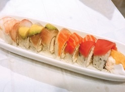 Crunch Rainbow Roll