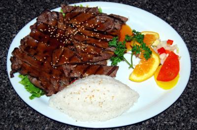 Beef Teriyaki( L )