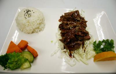 Beef Teriyaki( D )