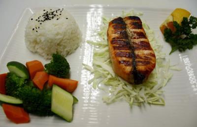 Salmon Shioyaki( D )