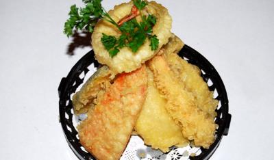 Vegetable Tempura( L )